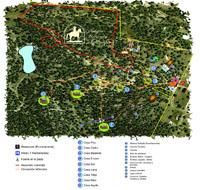 Mapa de Antigua Hacienda de Otinapa